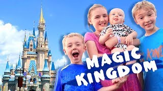 Florida Dream Vacation, Episode 11 - Magic Kingdom ~ Disney World Family Vlog