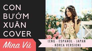 Con bướm Xuân Eng - Espanol - Japan - Korea cover by Mina