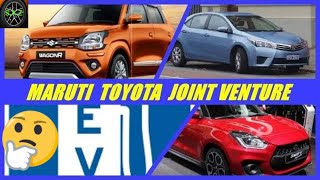 MARUTI TOYOTA JOINT VENTURE/MAHINDRA FORD JOINT VENTURE IN INDIA.