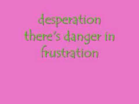 Desperation Lyrics By Miranda Lambert
