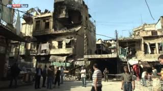 دمار المعارك في شمال لبنان
