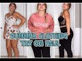 TRY ON CLOTHING HAUL SUMMER STYLE mp3
