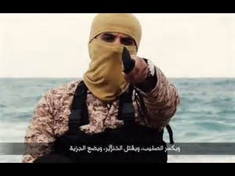 ISIS ISIL DAESH Libya video Beheadings of 21 Egyptian Christians Breaking news