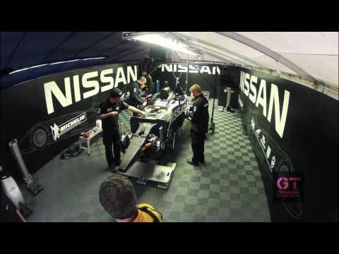 Nissan DeltaWing Repair - GoPro Time Lapse - Road Atlanta