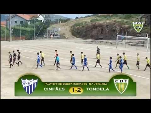 Cinf�es 1-2 Tondela (Play-off de subida Iniciados)