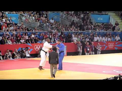 Olympic Judo London 2012 +100kg Final - Riner FRA bt Mikhaylin RUS