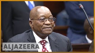 Zuma trial: South Africa's ex-president faces corruption charges