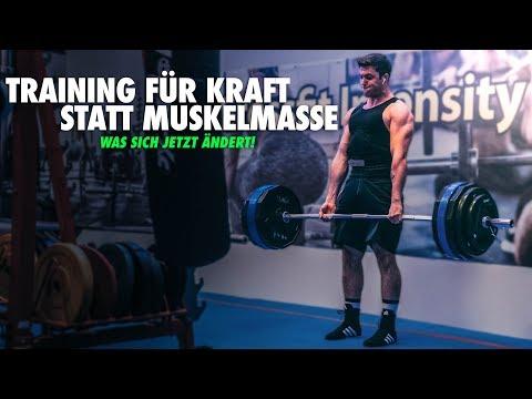 MUSKELAUFBAU vs KRAFTAUFBAU - Unterschiede im Training + 200kg Kreuzheben | Kraftdreikampf