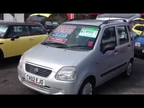 www.philwilliamscars.co.uk 2002 SUZUKI WAGON R 1.3 GL 5d 76 BHP £1950