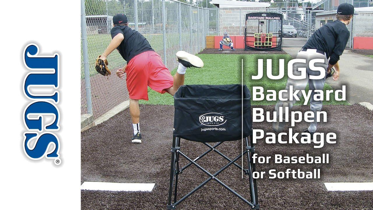 backyard bullpen package jugs sports baseball club