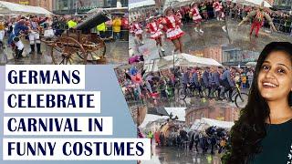ജർമനിയിലെ കാർണിവൽ ആഘോഷങ്ങൾ   Germans Celebrate Carnival in Funny Costumes