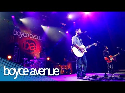 Boyce Avenue – Fast Car (Live In Los Angeles) on iTunes & Spotify