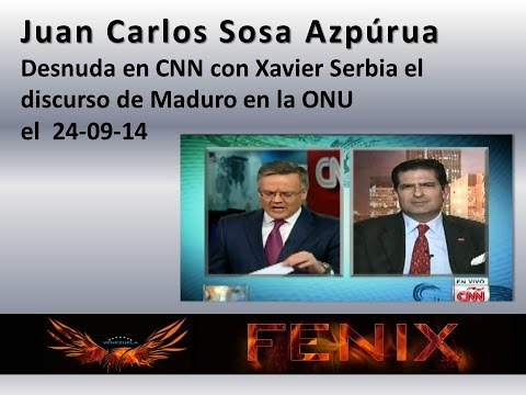 Juan Carlos Sosa Azpúrua / Desnuda en CNN el discurso de Maduro en la ONU
