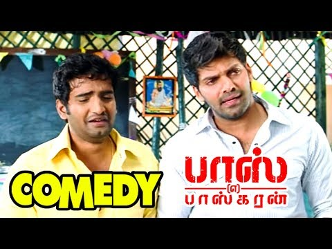 Boss Engira Baskaran | Tamil Full Movie Comedy Scenes | Santhanam Best Comedy scenes | Arya Comedy