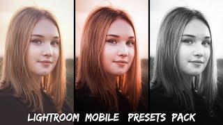 10 Lightroom Mobile Presets Pack With Download Links | Lightroom Mobile Tutorial | 2017