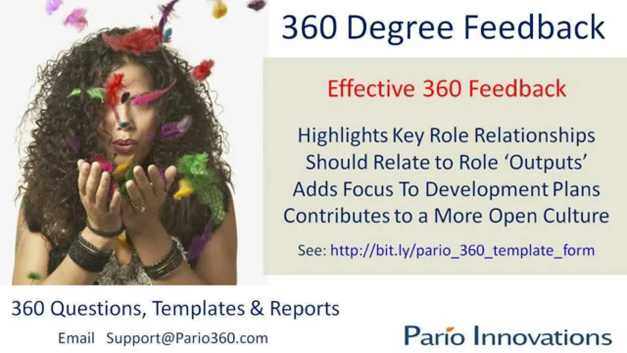360 Degree Feedback Form Template 360 Degree Feedback | Guide to