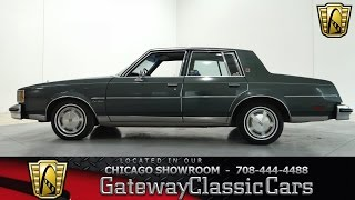 1981 Oldsmobile Cutlass Brougham Gateway Classic Cars Chicago #695