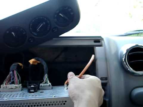 ford expedition head unit removal youtube