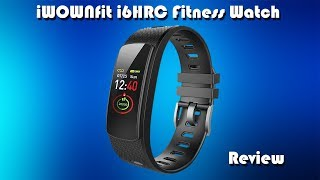 iWONFIT i6 HR C Fitness Tracker Bracelet Review