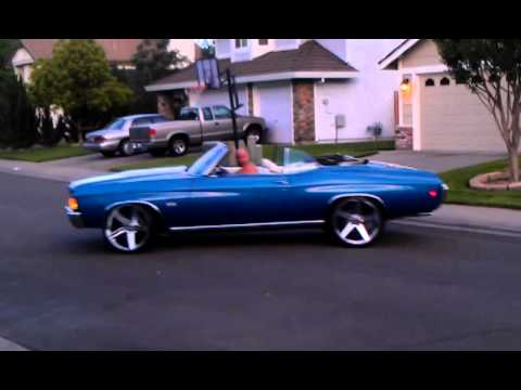 Our 1972 Chevelle Convertible - YouTube