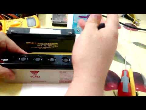 Recuperar baterías de plomo ácido de forma fácil y sencilla a coste cero