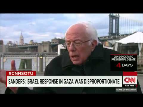 Hillary Clinton v. Bernie Sanders on Israel-Gaza War (Israel's 'Operation Protective Edge')