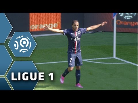 Great volley from LUCAS (26') / Paris Saint-Germain - SC Bastia (2-0) - (PSG - SCB) / 2014-15