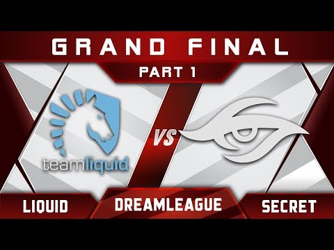 Liquid vs Secret [EPIC] Grand Final DreamLeague 8 Major 2017 Highlights Dota 2 - Part 1