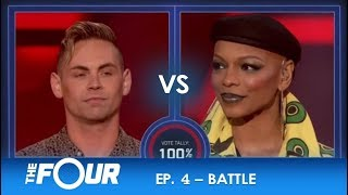 Brennan vs Sharaya J: Two Fighters Leave Their HEART & SOUL On The Stage! | S2E4 | The Four