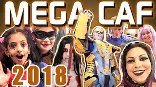 MEGA CAF 2018 - Campinas Anime Fest | Show Case/VLOG | Lariih Mendes