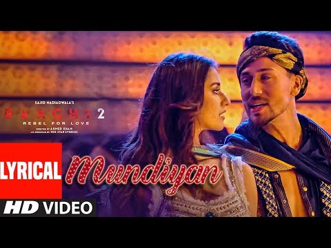 Mundiyan Video Song - Baaghi 2