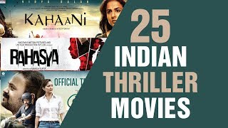 25 Indian Thriller Movies and 2 Bonus | Film List | Sobak Pakhi