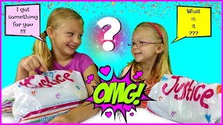 THE SHOPPING CHALLENGE - Sisters Buy Outfits For Each Other - Magic Box Toys Collector