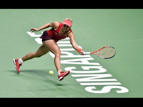 Angelique Kerber vs Petra Kvitova | 2015 WTA Finals Highlights