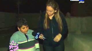 بالفيديو ريهام سعيد من امام مقبرة الطفلة ملك وتوجه رسالة لوزير الصحة ولقاء مبكي مع اخو الطفله