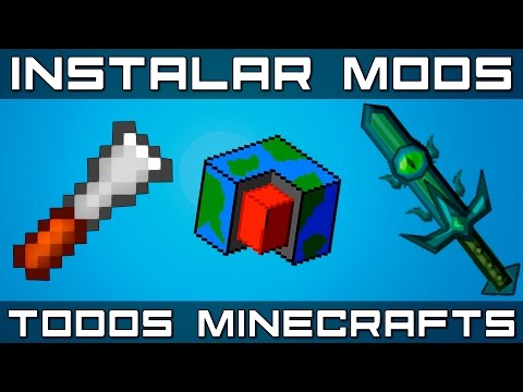 [2017] Como Instalar MODS no MINECRAFT! [PIRATA + ORIGINAL] [Todas as Versões!]