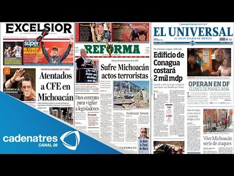 periódicos mas importantes de circulación nacional / major national newspapers