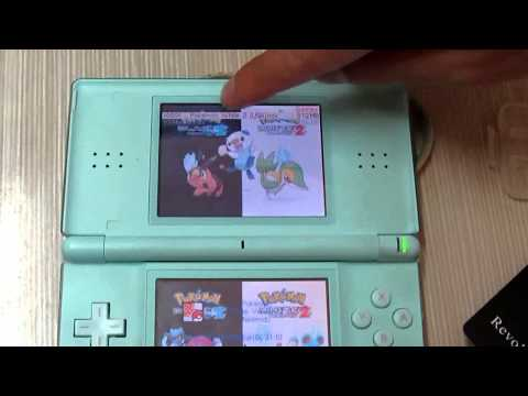 Pokemon Black White 2 Work on R4 DS Card.flv