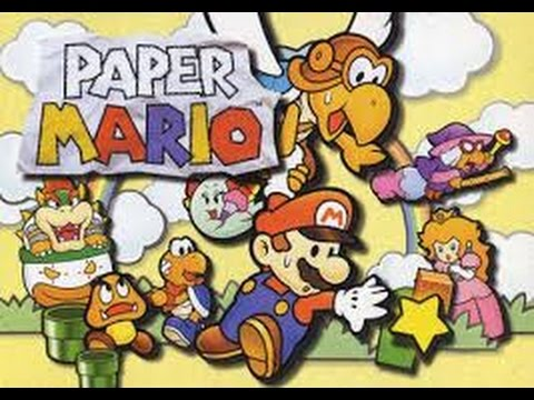 PAPER MARIO PARA ANDROID ( EMULADOR N64OID)LINK DE DESCARGA APK Y ROM
