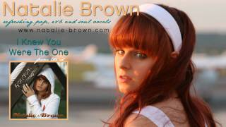 Watch Natalie Brown I Knew You Were The One video