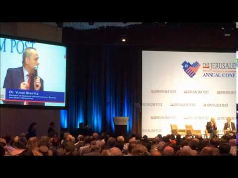 Jack Lew Booed at Jpost Conference