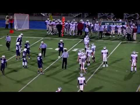 Football Lancers vs Lowell 2014