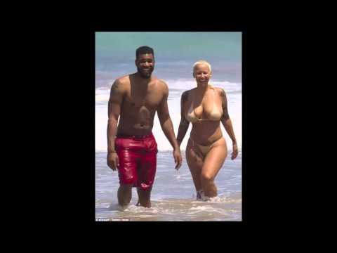 amber rose completly naked on the beach of hawaii thumbnail