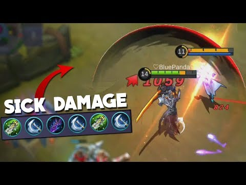 105% CRIT Build on Argus Gameplay! Mobile Legends New Hero Update