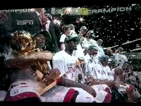 NBA Miami Heat 2012 Champions (LeBron's 1st) Part 1