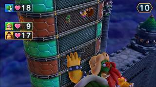 Mario Party 10 - Chaos Castle ! Bowser & Team Mario( Yoshi,Wario,Donkey Kong,Peach)# 41