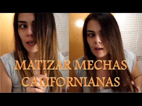 MATIZAR MECHAS CALIFORNIANAS CON SUBLIME MOUSSE DE L'OREAL