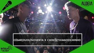 César, Noventa e Dudu x Choice, Thiago e Olhinho | GRANDE FINAL | BDA 2 ANOS