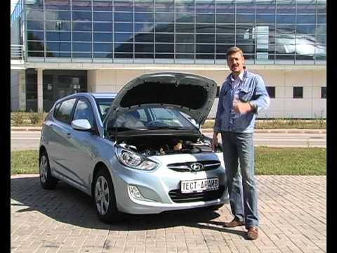 Тест-драйв Hyundai Solaris хэтчбек