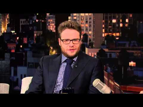 Seth Rogen & David Letterman Talk about Weed